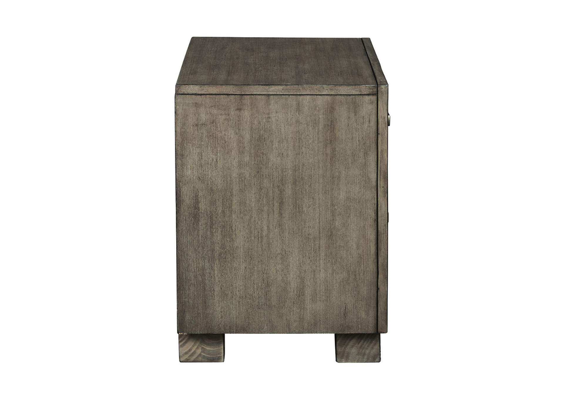 Arnett Gray Nightstand,Signature Design By Ashley