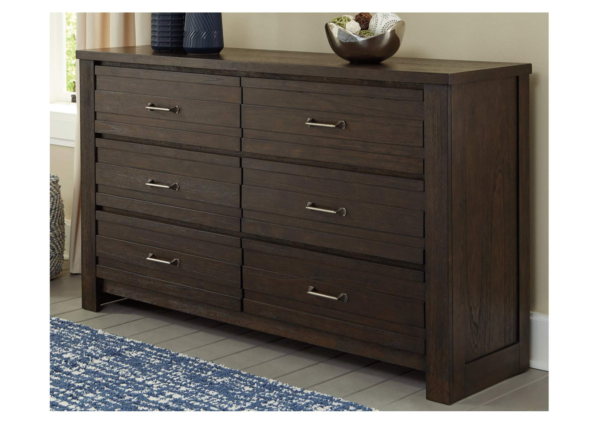 Darbry Brown Dresser,Signature Design By Ashley