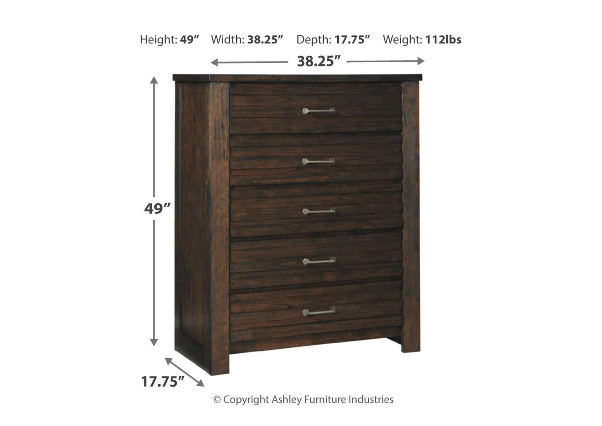 Darbry Brown Chest,Signature Design By Ashley