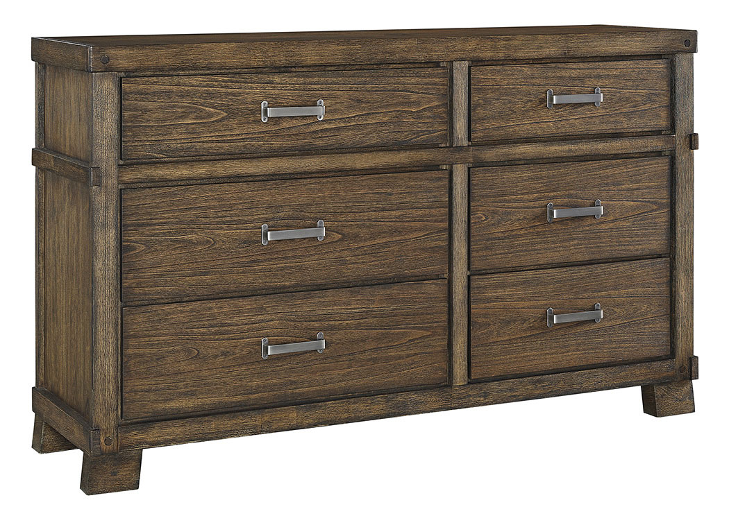 Harlem Furniture Leystone Dark Brown Dresser