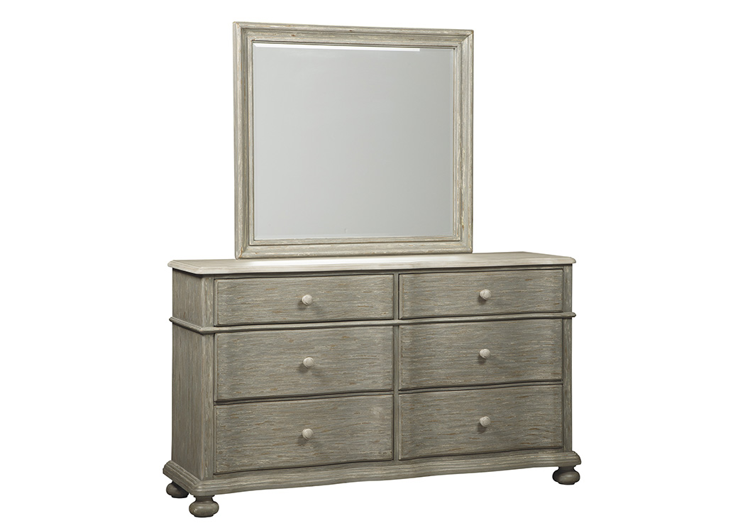 Marleny Gray/Whitewash Bedroom Mirror,Signature Design By Ashley