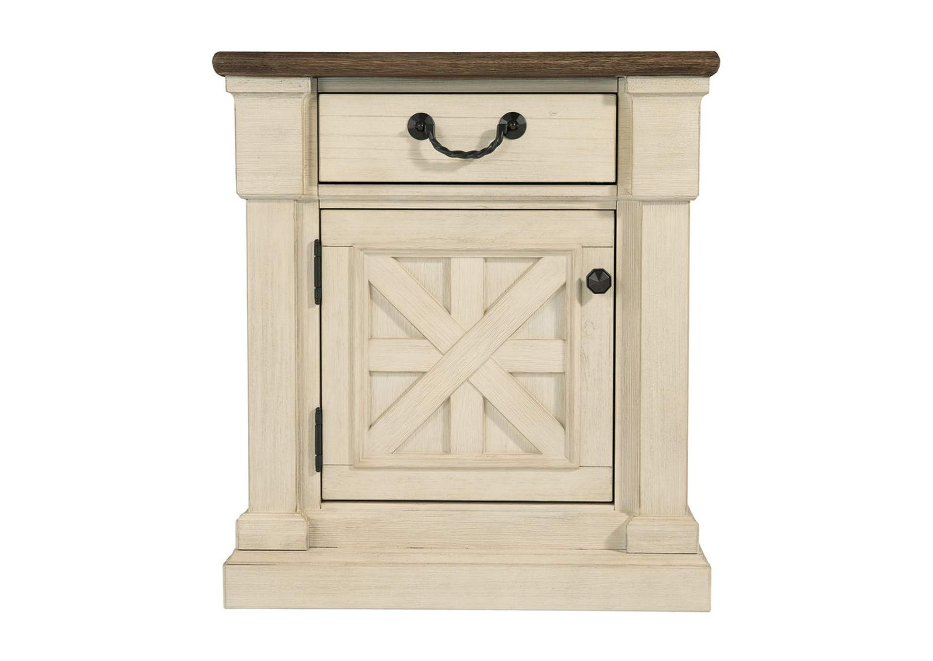 Bolanburg Antique White One Drawer Night Stand,Signature Design By Ashley