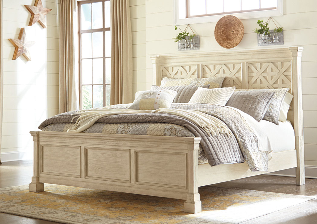 Bolanburg White California King Panel Bed,Signature Design By Ashley