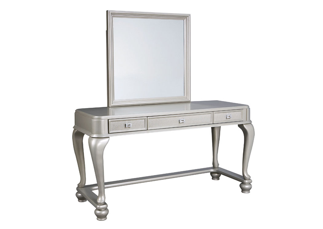Coralayne Silver Vanity Mirror,Signature Design By Ashley