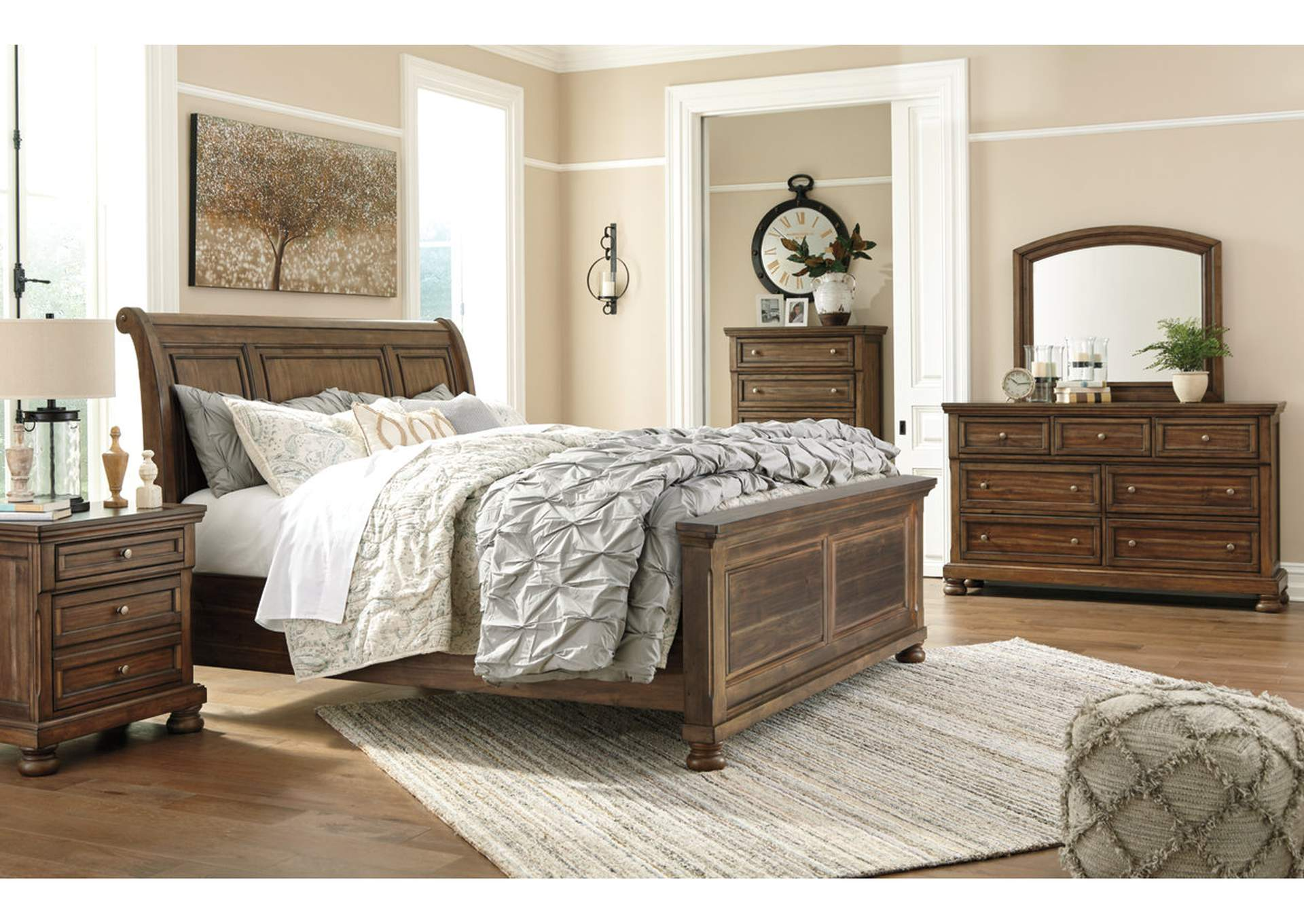Flynnter Medium Brown Dresser,Signature Design By Ashley