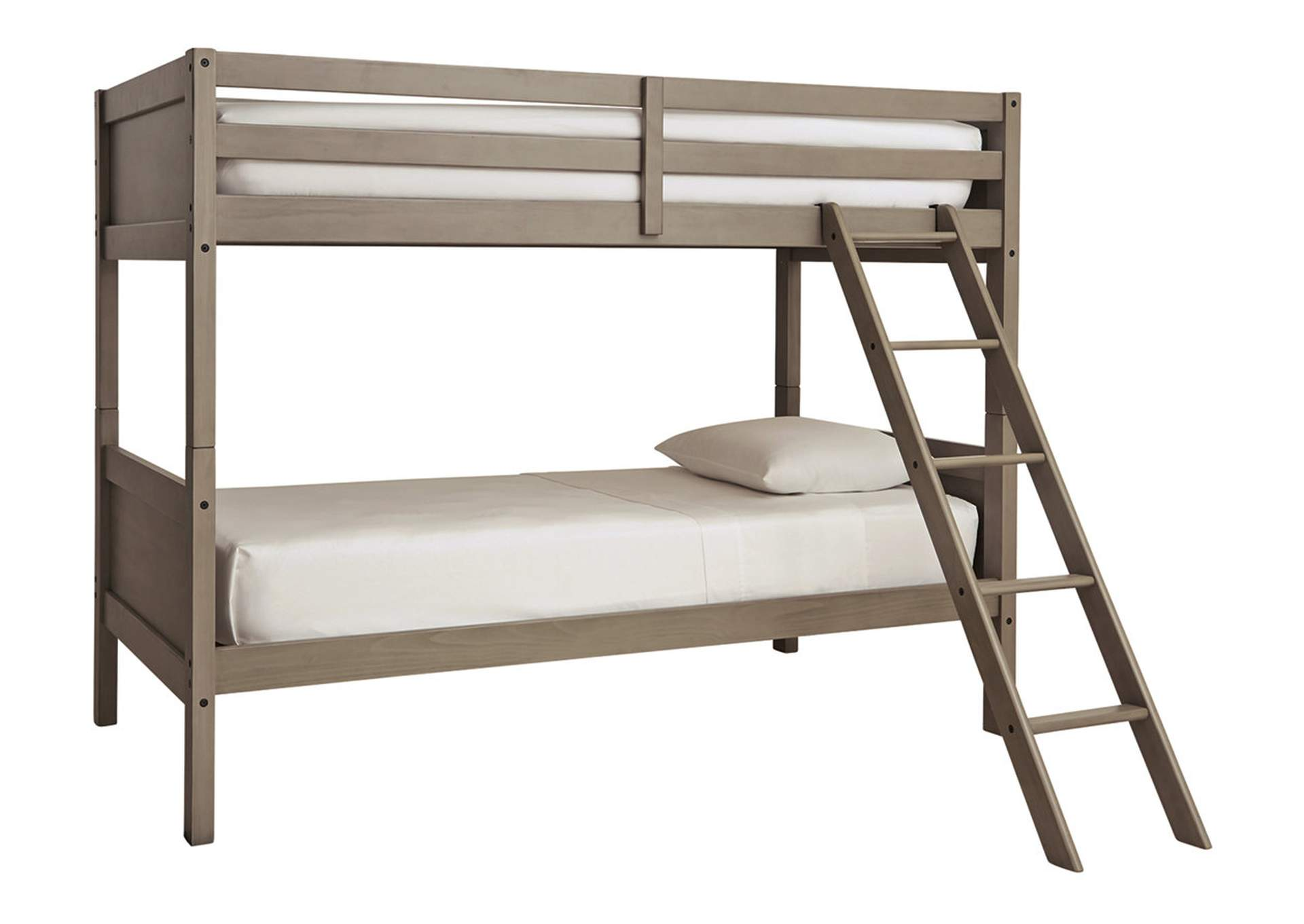 Lettner Twin/Twin Bunk Bed with Ladder,Signature Design By Ashley