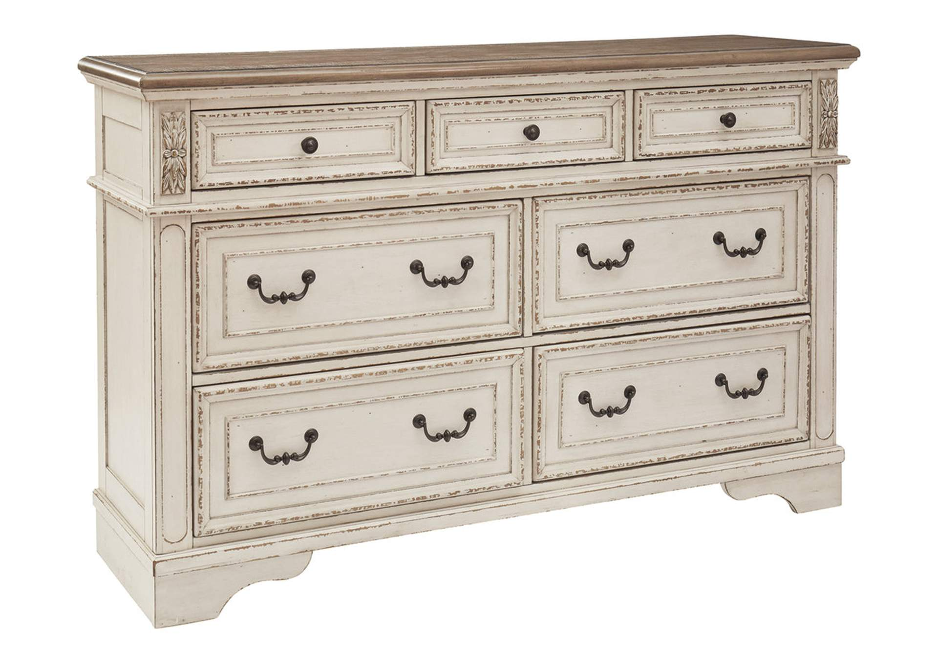 Realyn White/Brown Two-Tone Dresser,Signature Design By Ashley
