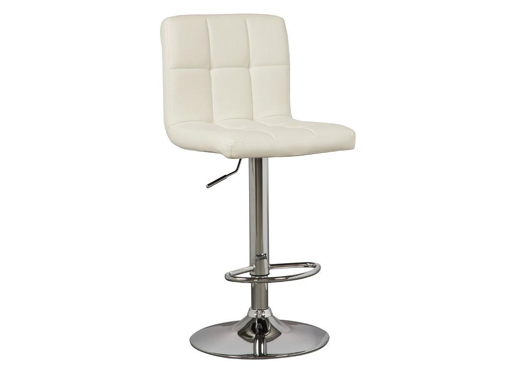 Adjustable Height Barstools Multi Tall Upholstered Swivel Barstool (Set Of  2),Signature Design