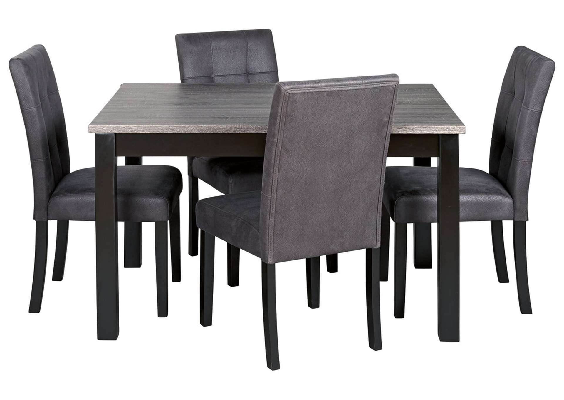 Garvine Two-Tone Dining Table and Chairs (Set of 5),Signature Design By Ashley