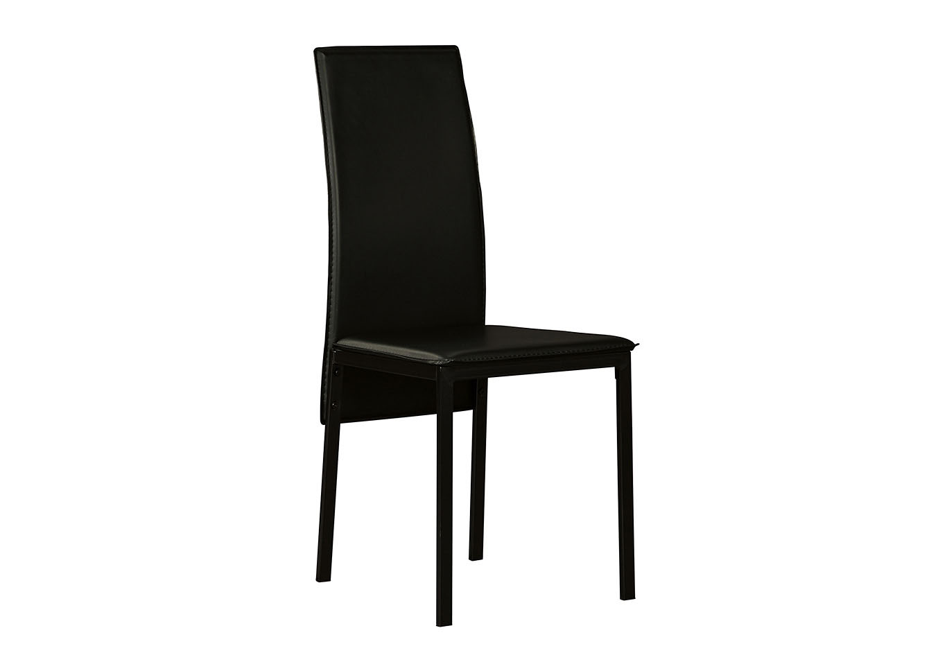 Sariden Black Dining Room Side Chair (Set of 2),Signature Design By Ashley