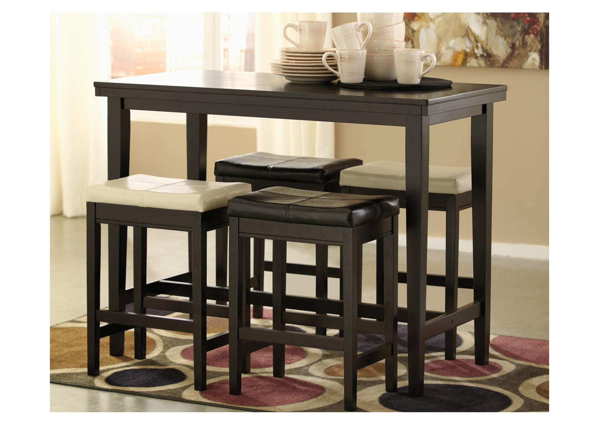 Kimonte Rectangular Counter Height Table,Signature Design By Ashley
