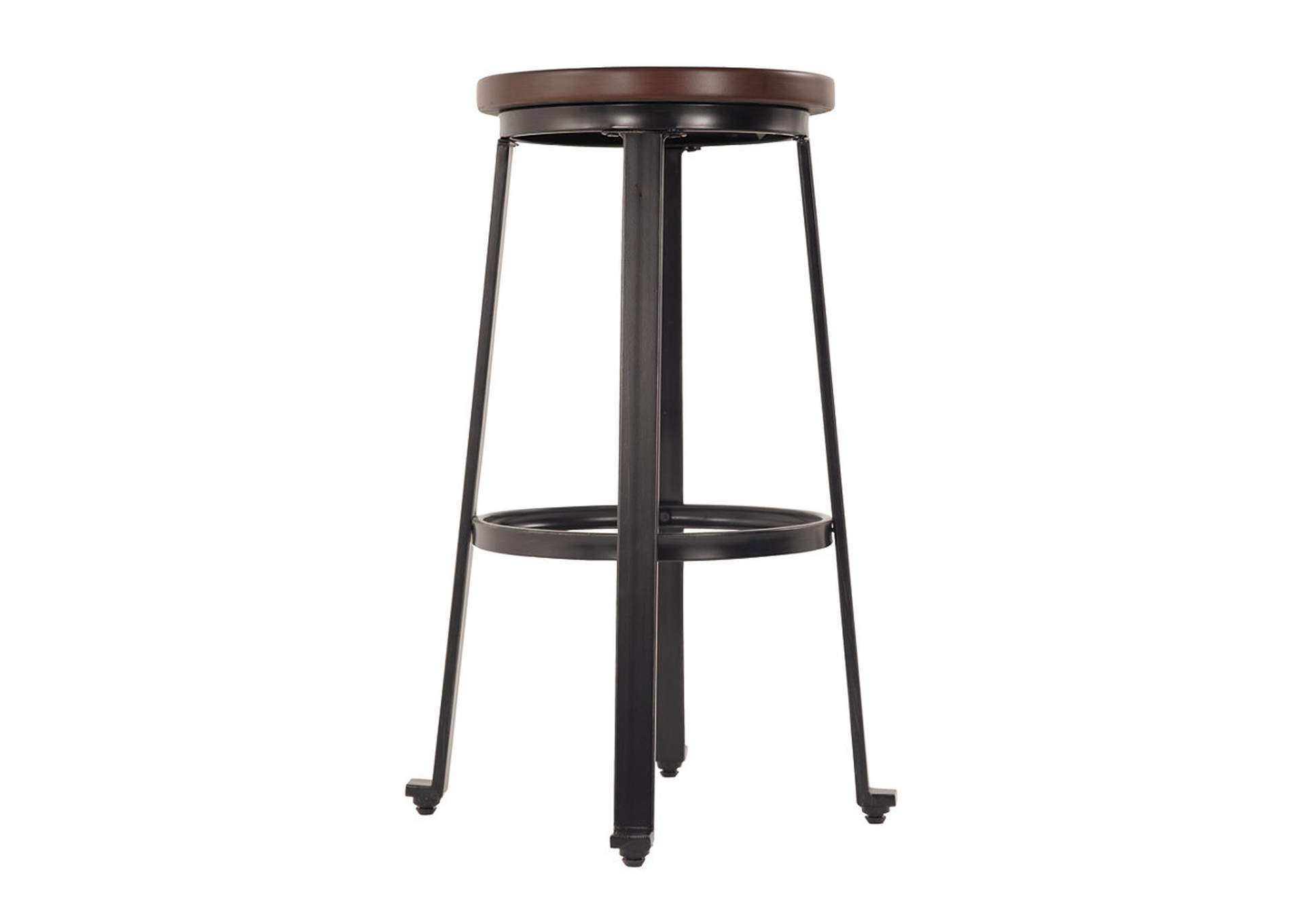 Challiman Rustic Brown Tall Stool (Set of 2),Signature Design By Ashley