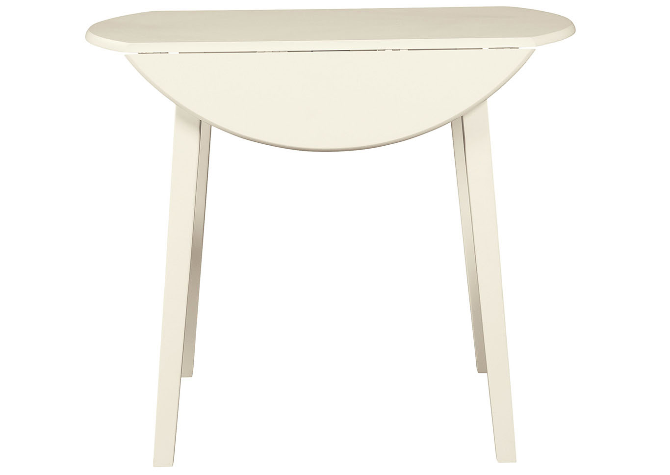 Slannery White Dining Table,Signature Design By Ashley