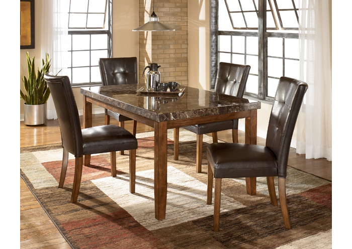 Lacey Rectangular Dining Table & 4 Side Chairs,Signature Design By Ashley