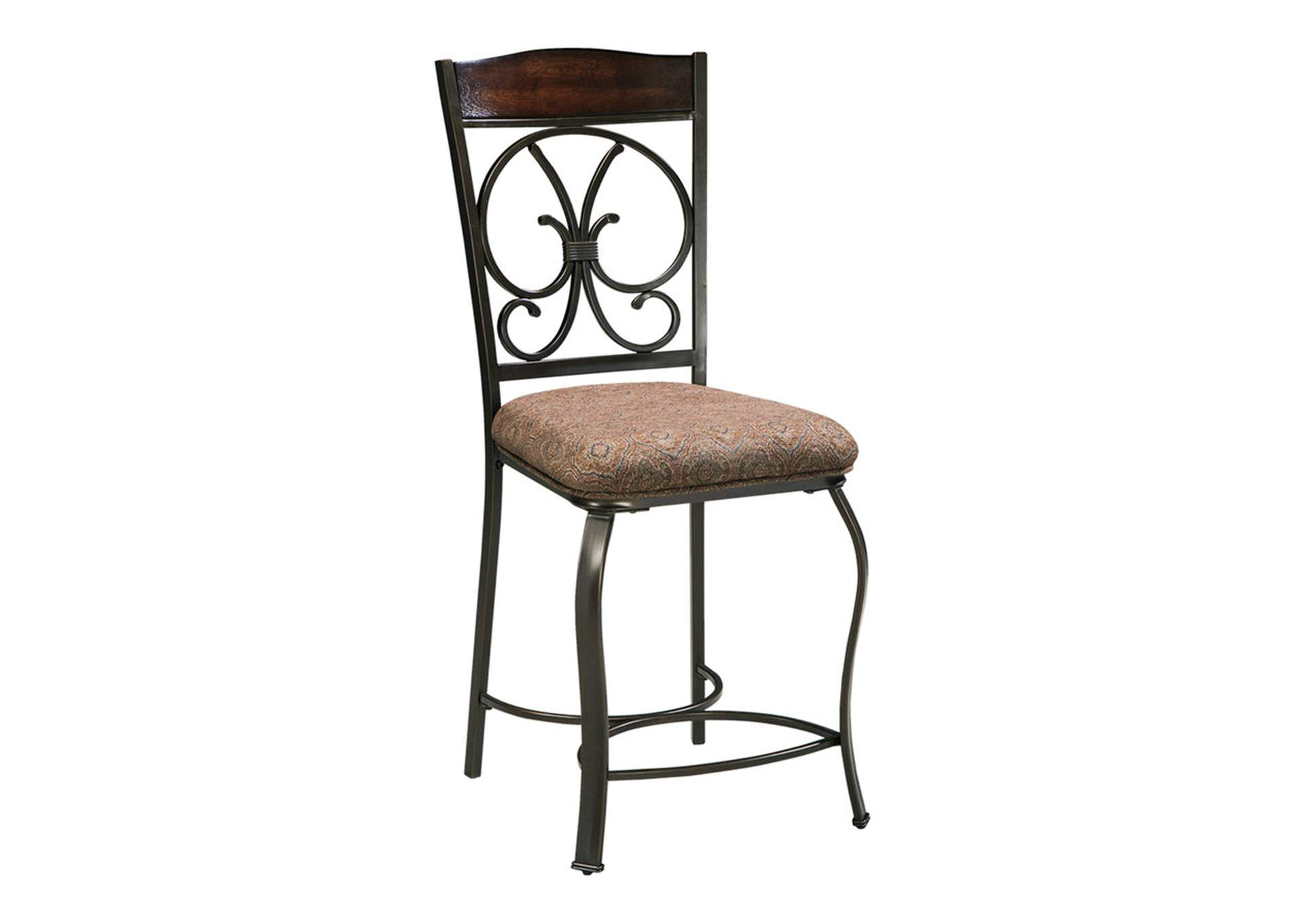 Glambrey Upholstered Barstool (Set of 4),Signature Design By Ashley