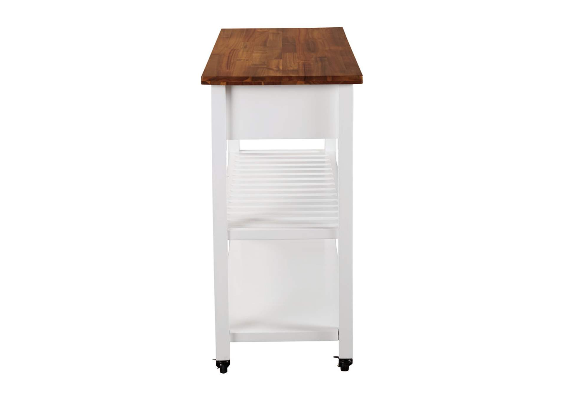 Withurst Brown Kitchen Cart,Signature Design By Ashley