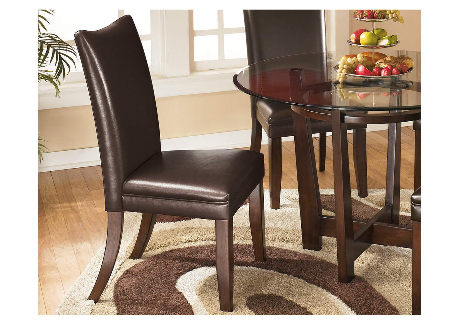 Charrell Brown Side Chairs (Set of 2),Signature Design By Ashley