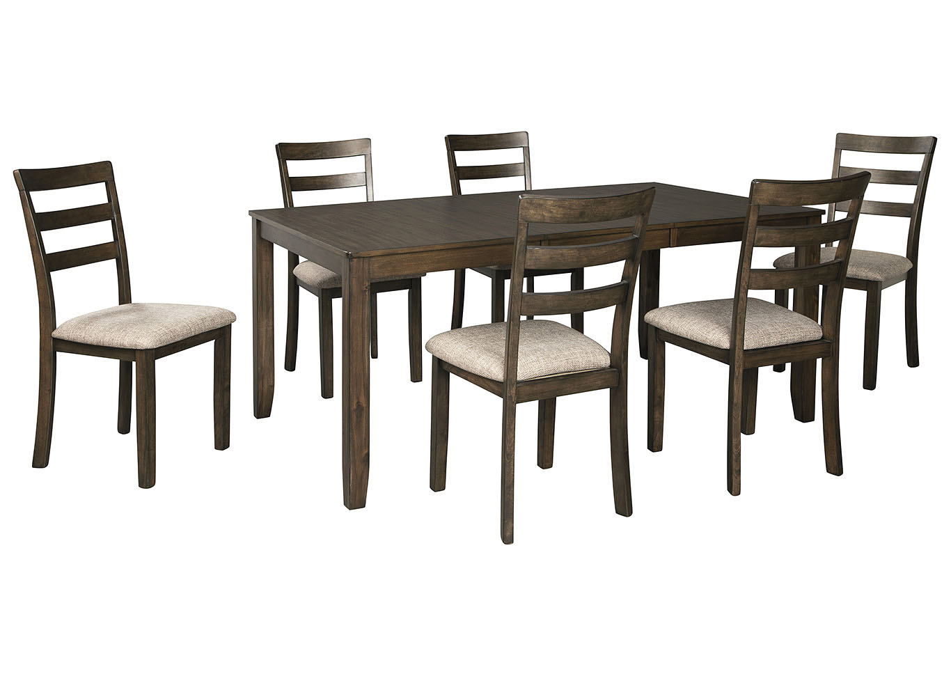 Drewing Dining Room Table w/6 Side Chairs,Benchcraft