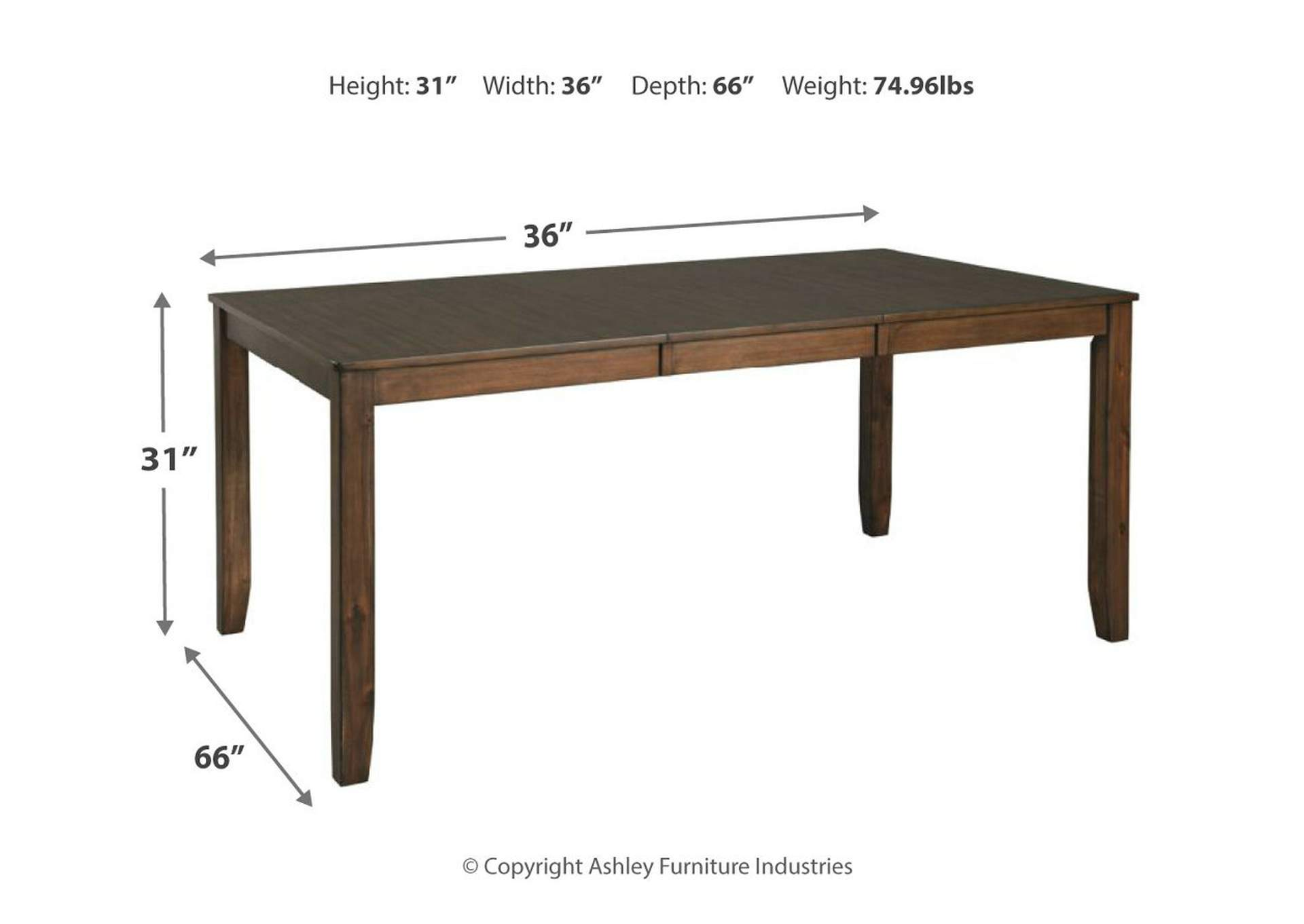 Drewing Dining Room Table,Benchcraft