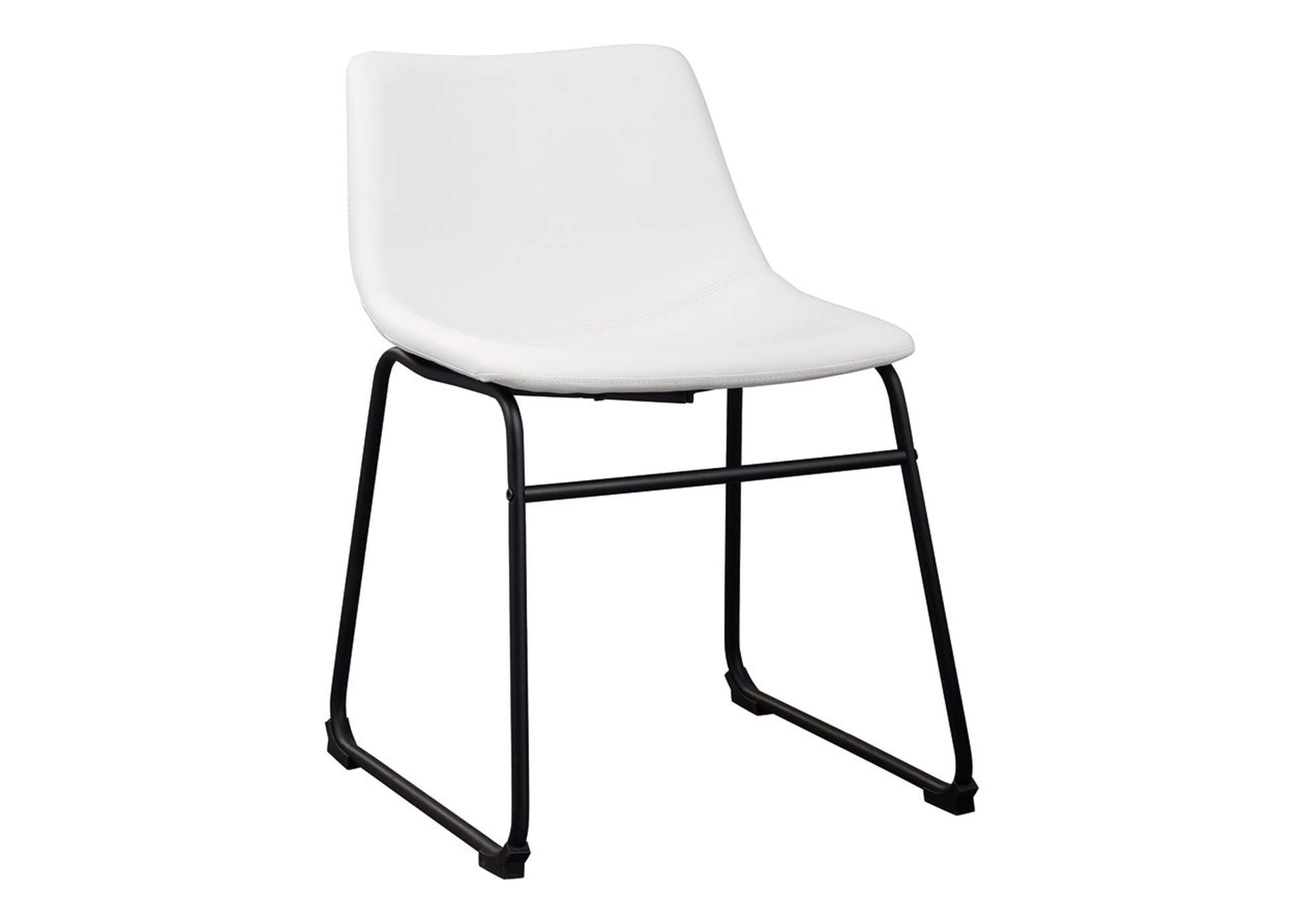 Centiar White Dining Chair (Set of 2),Signature Design By Ashley