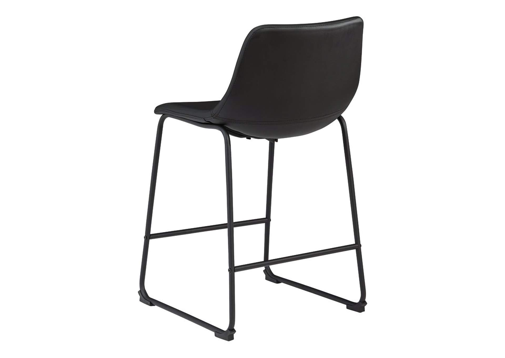 Centiar Black Bar Stool (Set of 2),Signature Design By Ashley