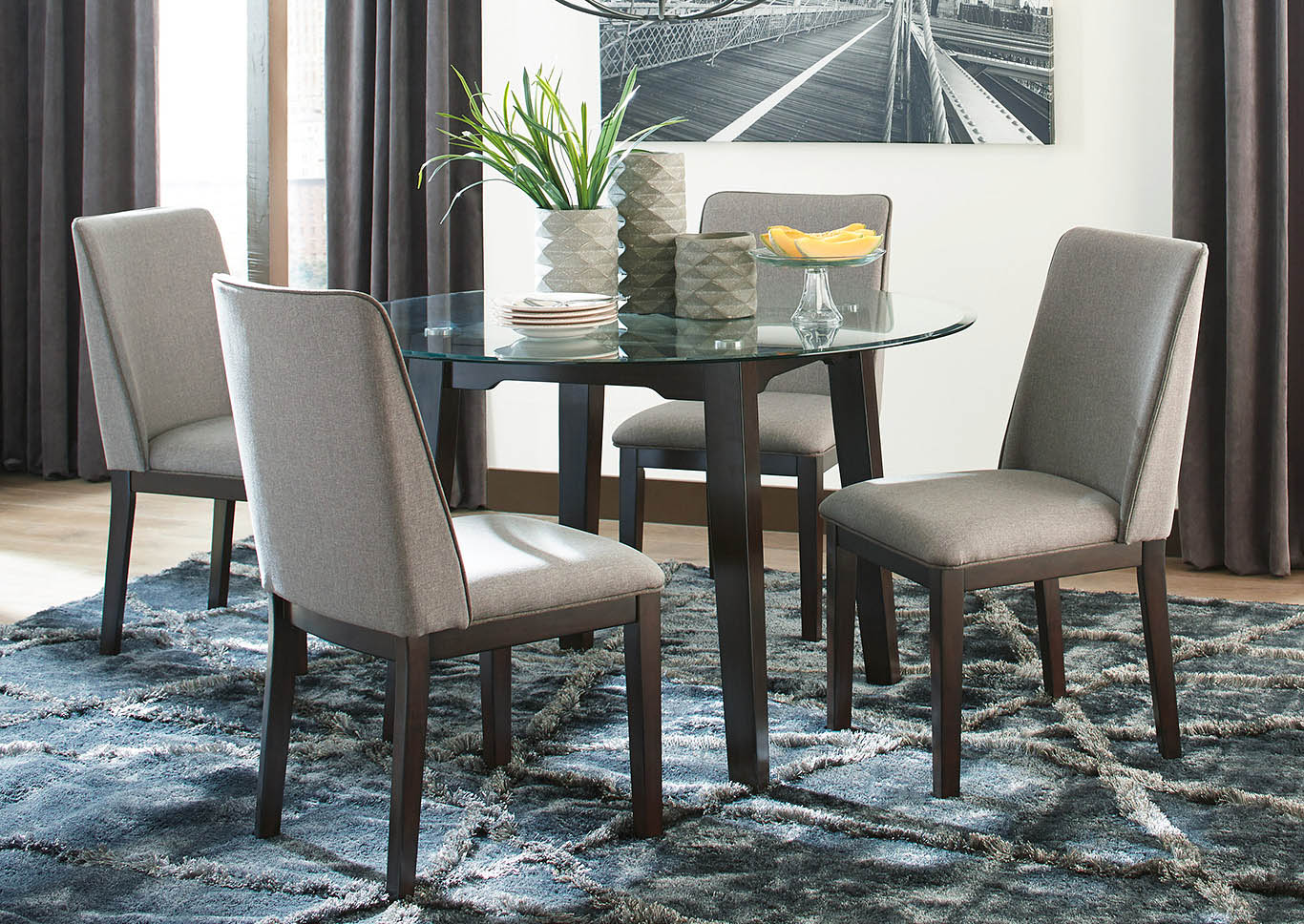 Chanceen 5 Piece Dining Room Set