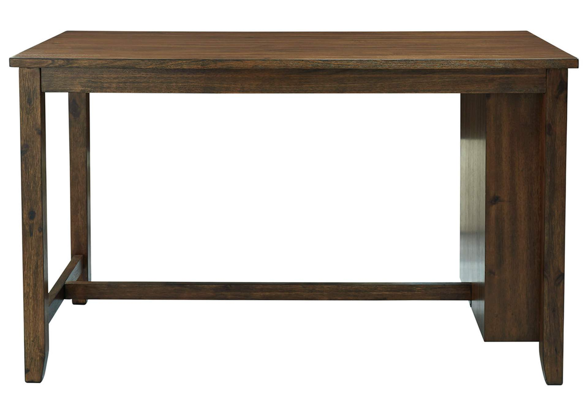 Chaleny Warm Brown Counter Table,Benchcraft