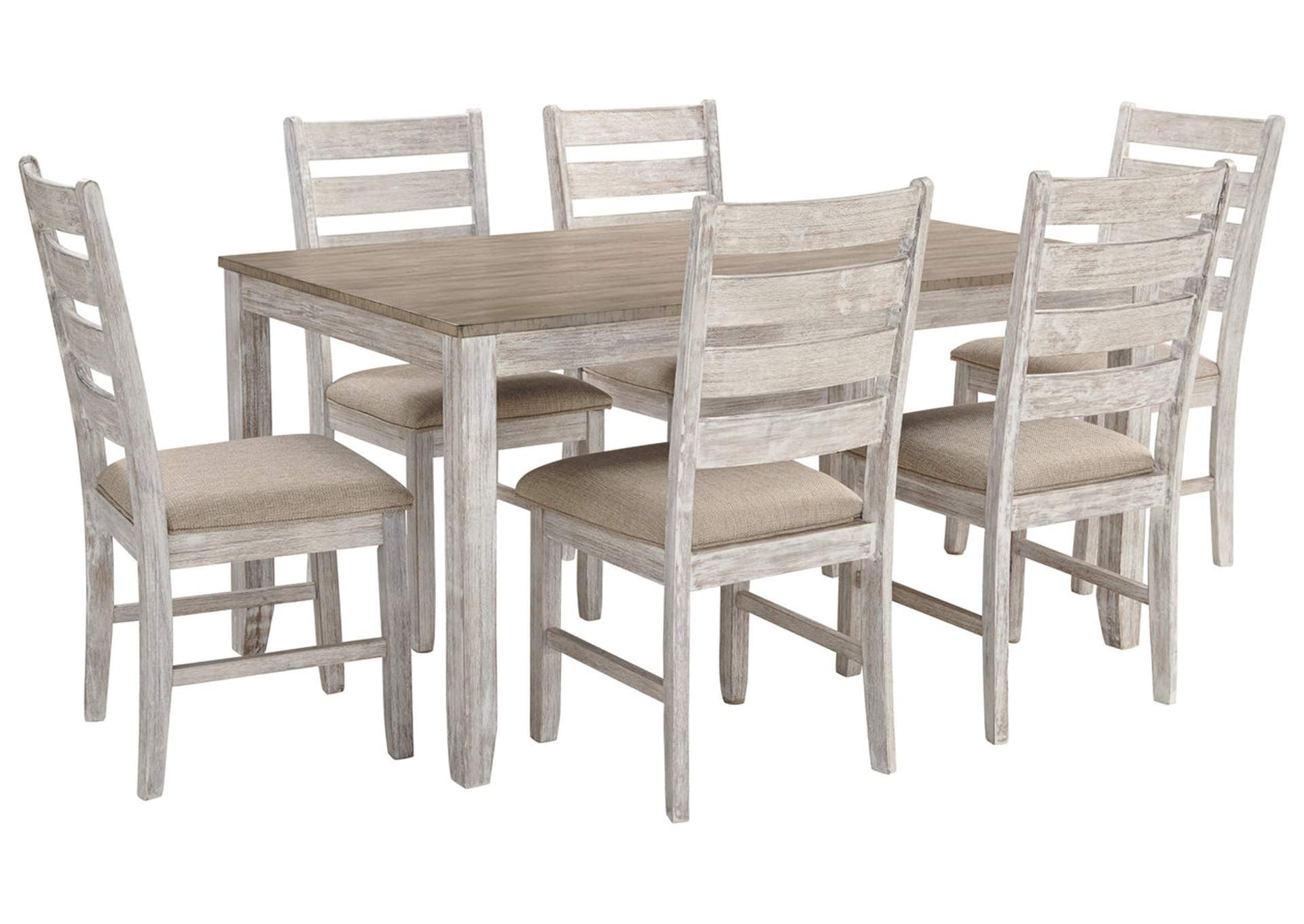 Skempton 7 Piece Dining Table Set,Signature Design By Ashley
