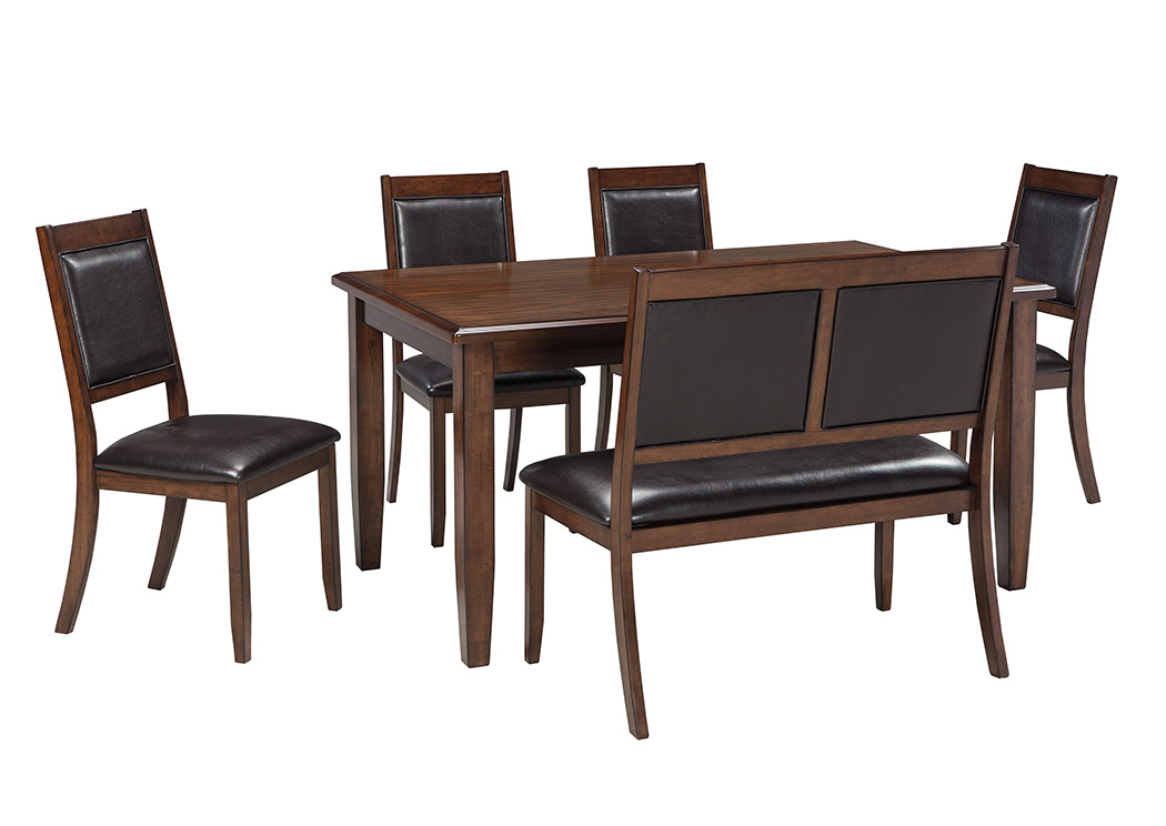 Furniture liquidators home center meredy brown dining room for Brown dining room set