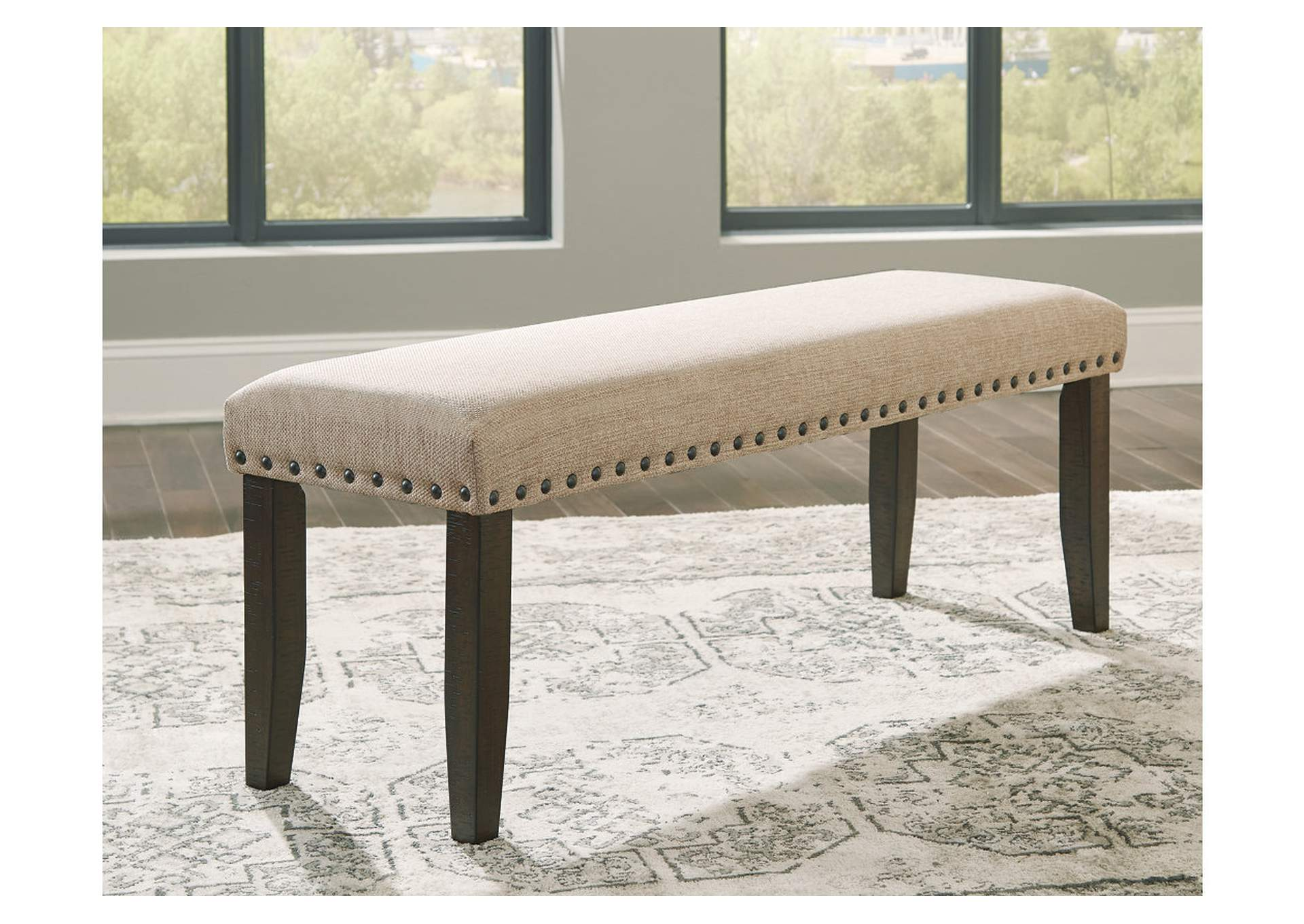 Rokane Light Brown Dining Bench,Signature Design By Ashley