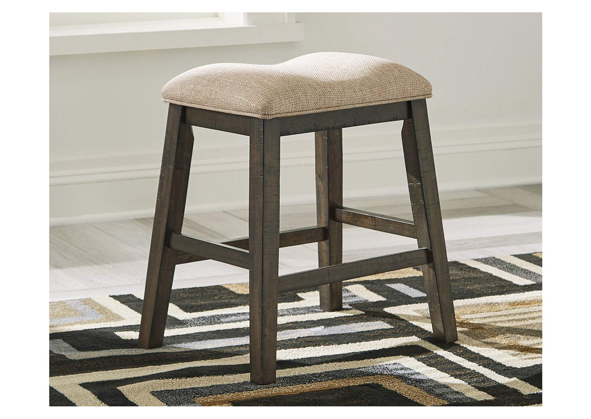 Rokane Brown Bar Stool (Set of 2),Signature Design By Ashley