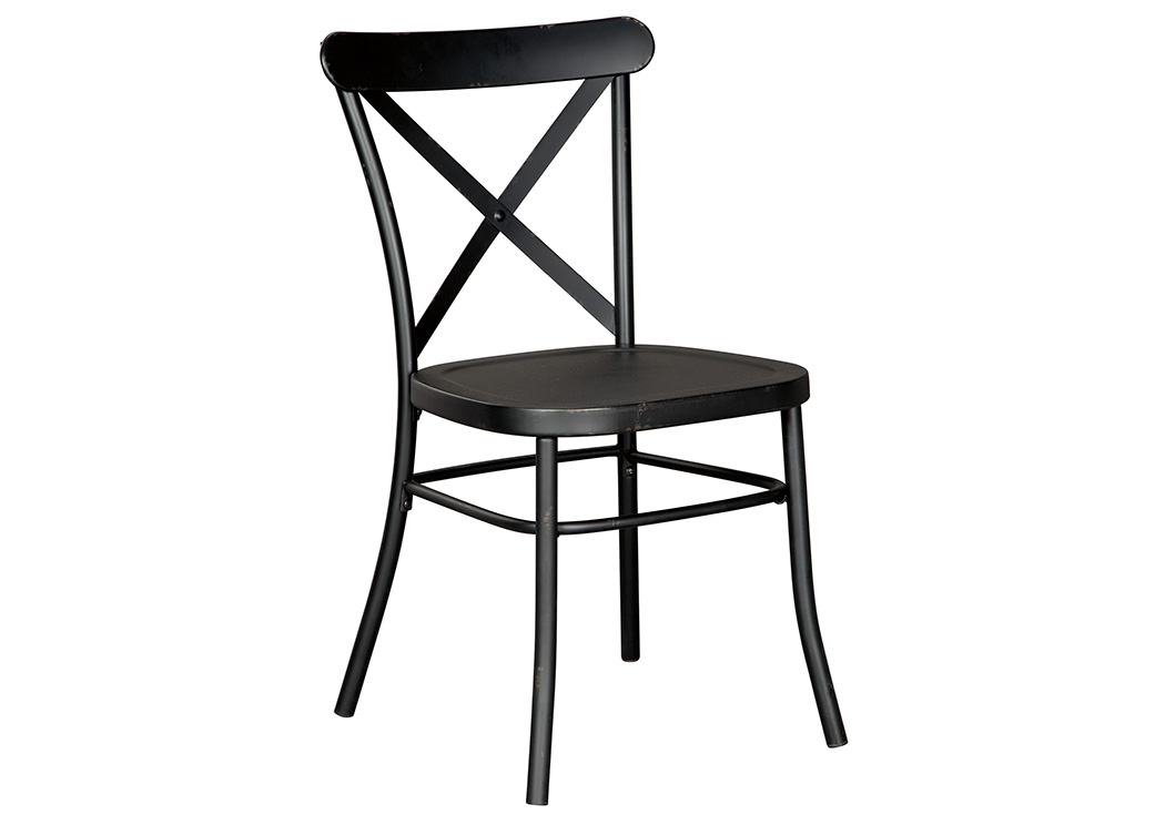 Minnona Black Dining Side Chair (Set of 2),Signature Design By Ashley