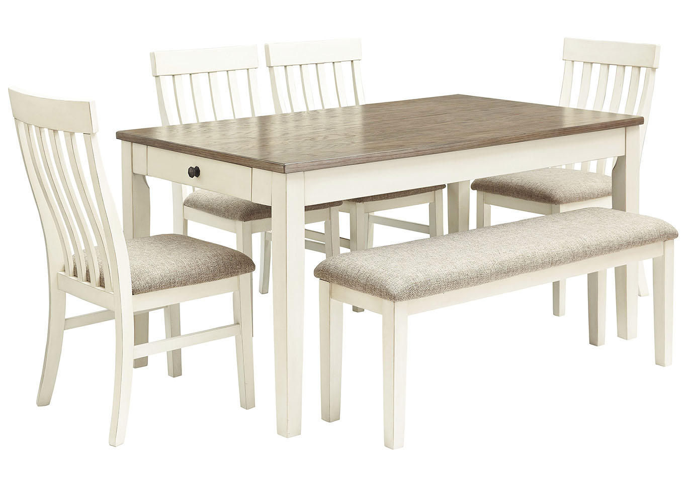 Bardilyn Dining Table W 4 Side Chairs Bench Harold S Furniture