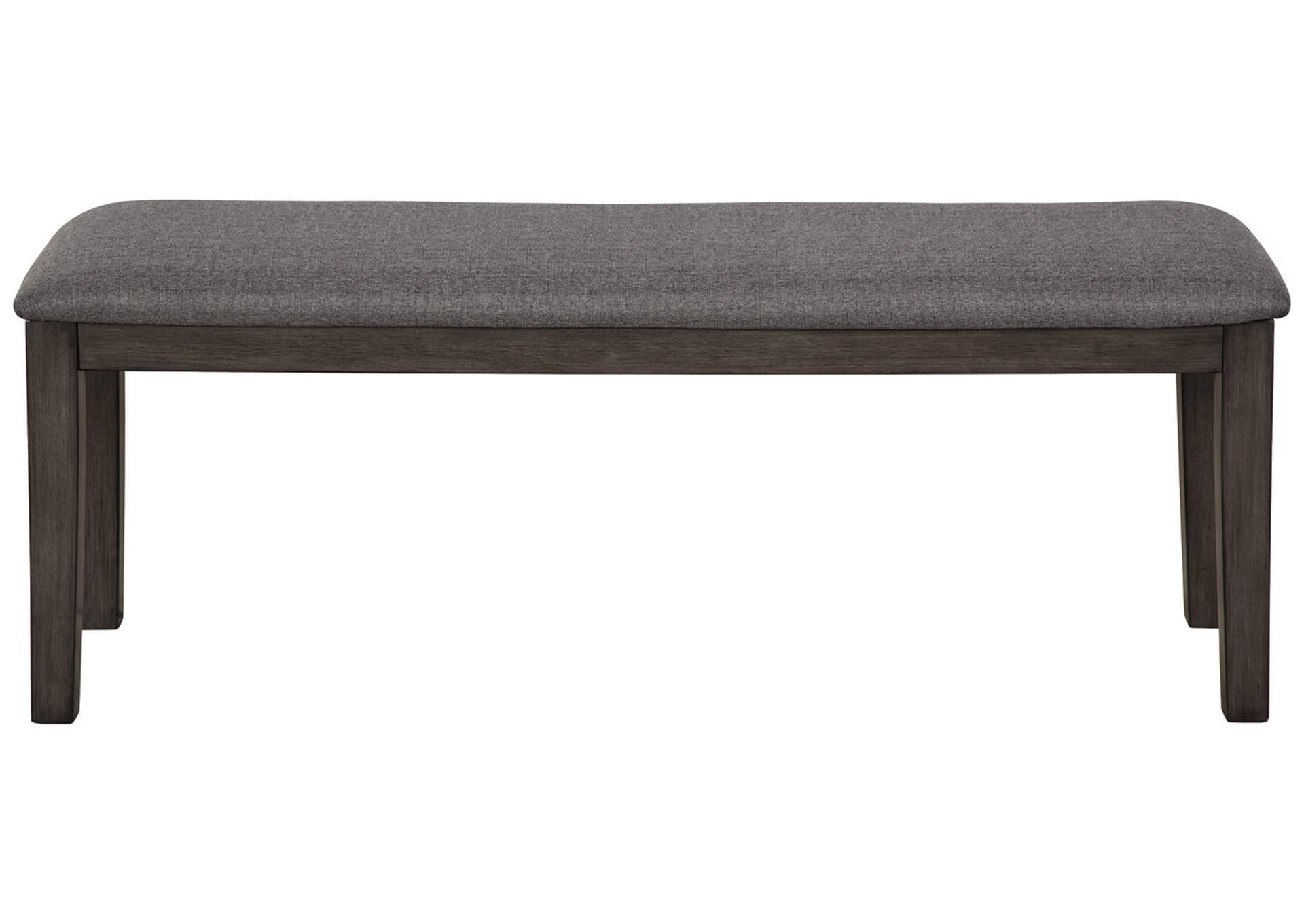 Luvoni Dark Charcoal Gray Dining Bench,Direct To Consumer Express