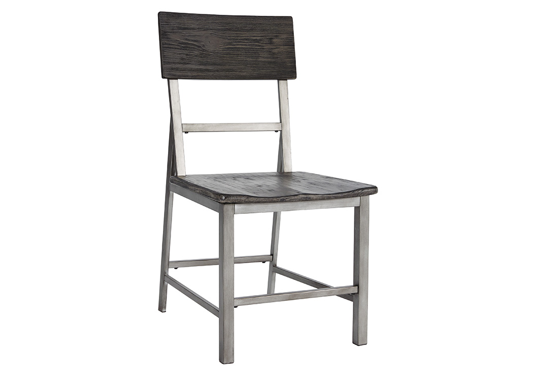 Raventown Grayish Brown Dining Side Chair (Set of 2),Signature Design By Ashley