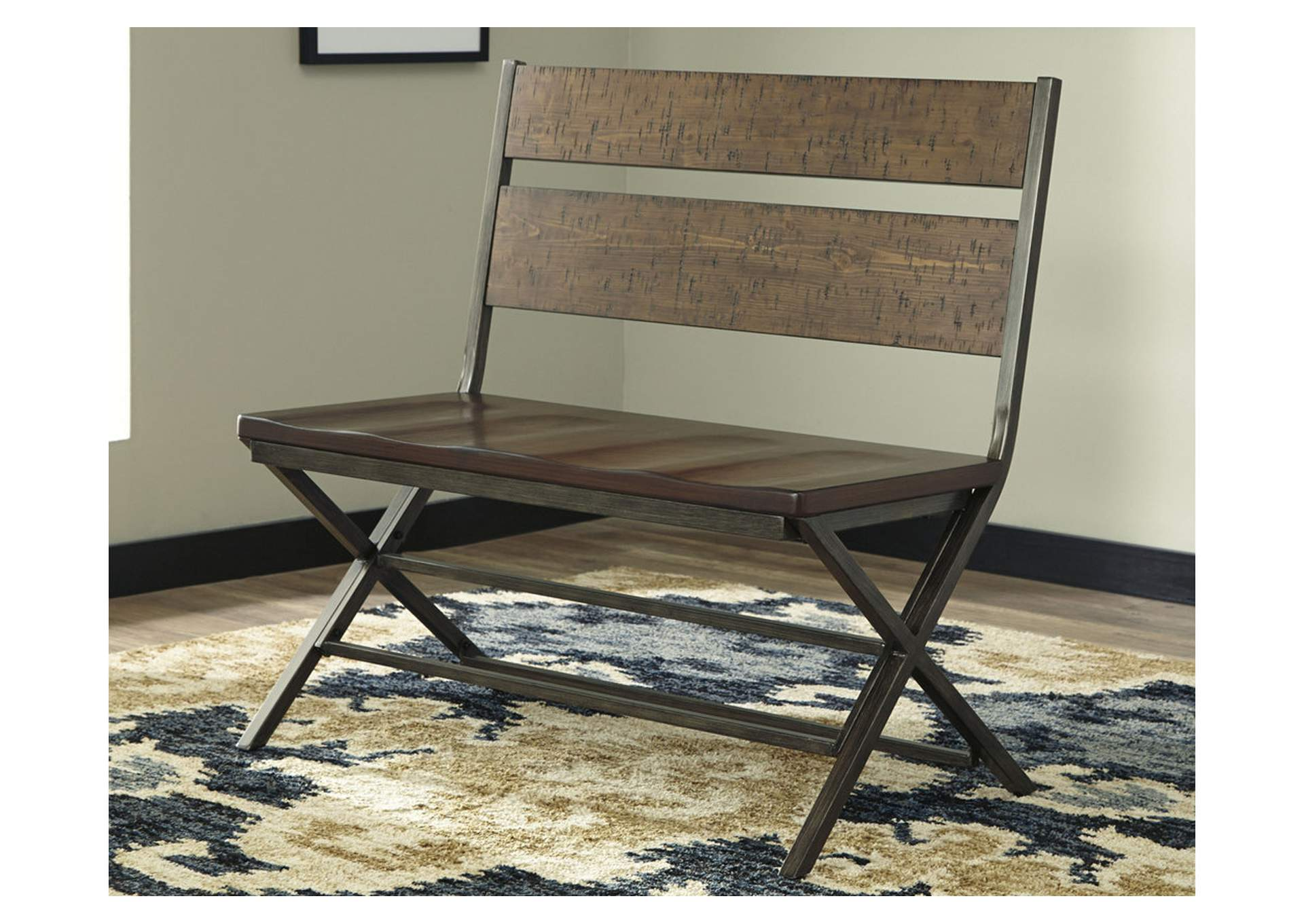 Kavara Medium Brown Double Dining Chair,Signature Design By Ashley
