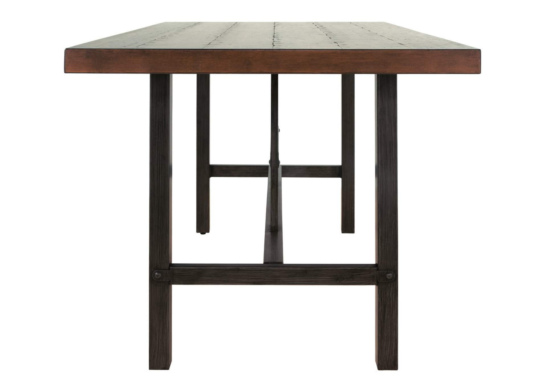 Kavara Medium Brown Rectangular Dining Room Counter Table,Signature Design By Ashley