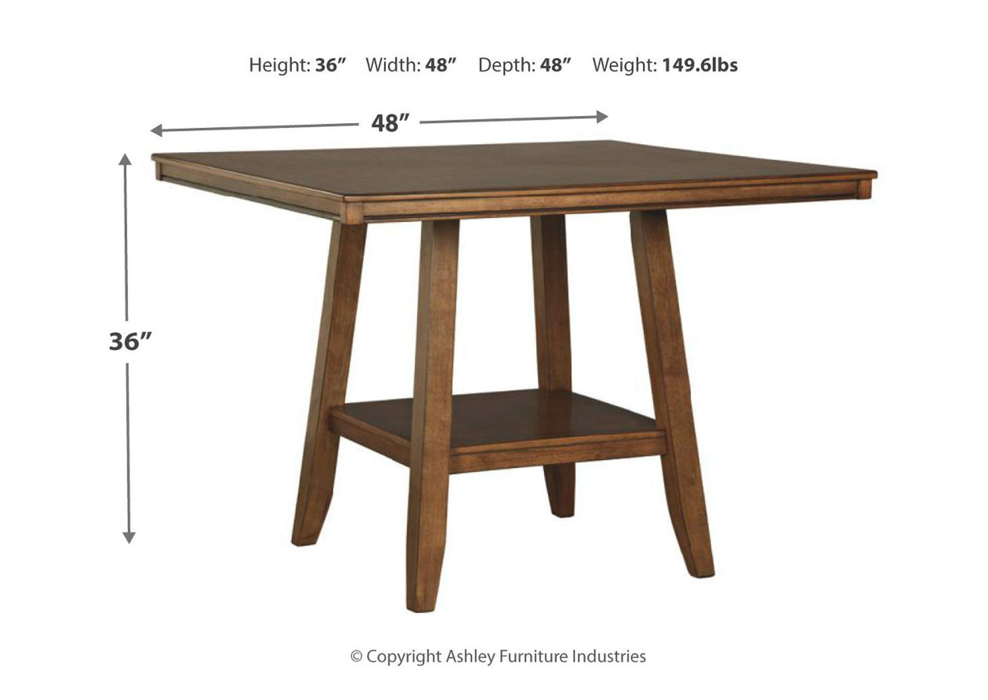 Glennox Counter Dining Table,Signature Design By Ashley