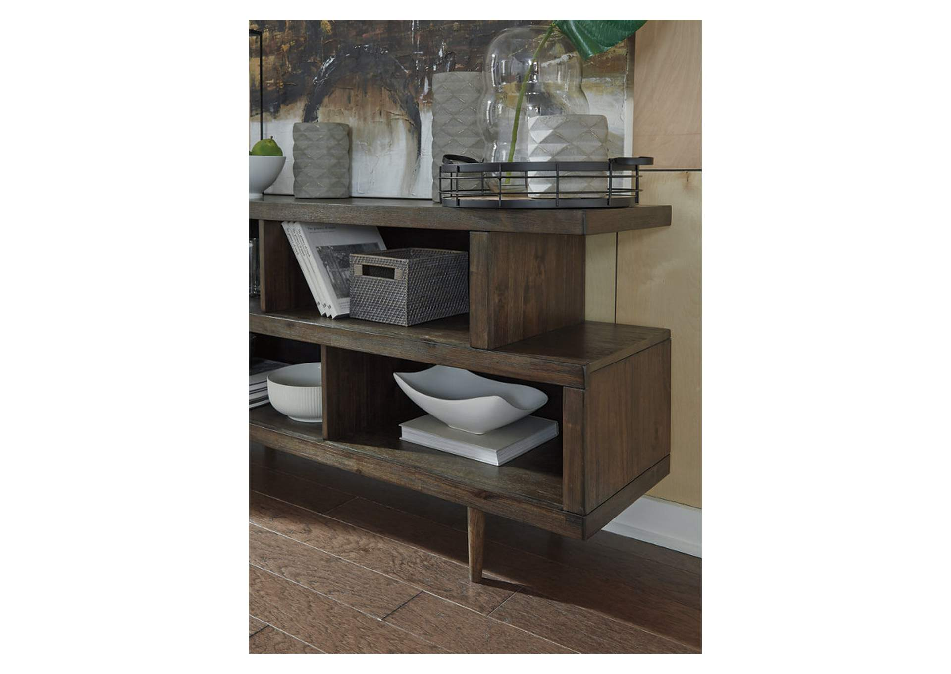 Kisper Brown Dining Server,Signature Design By Ashley