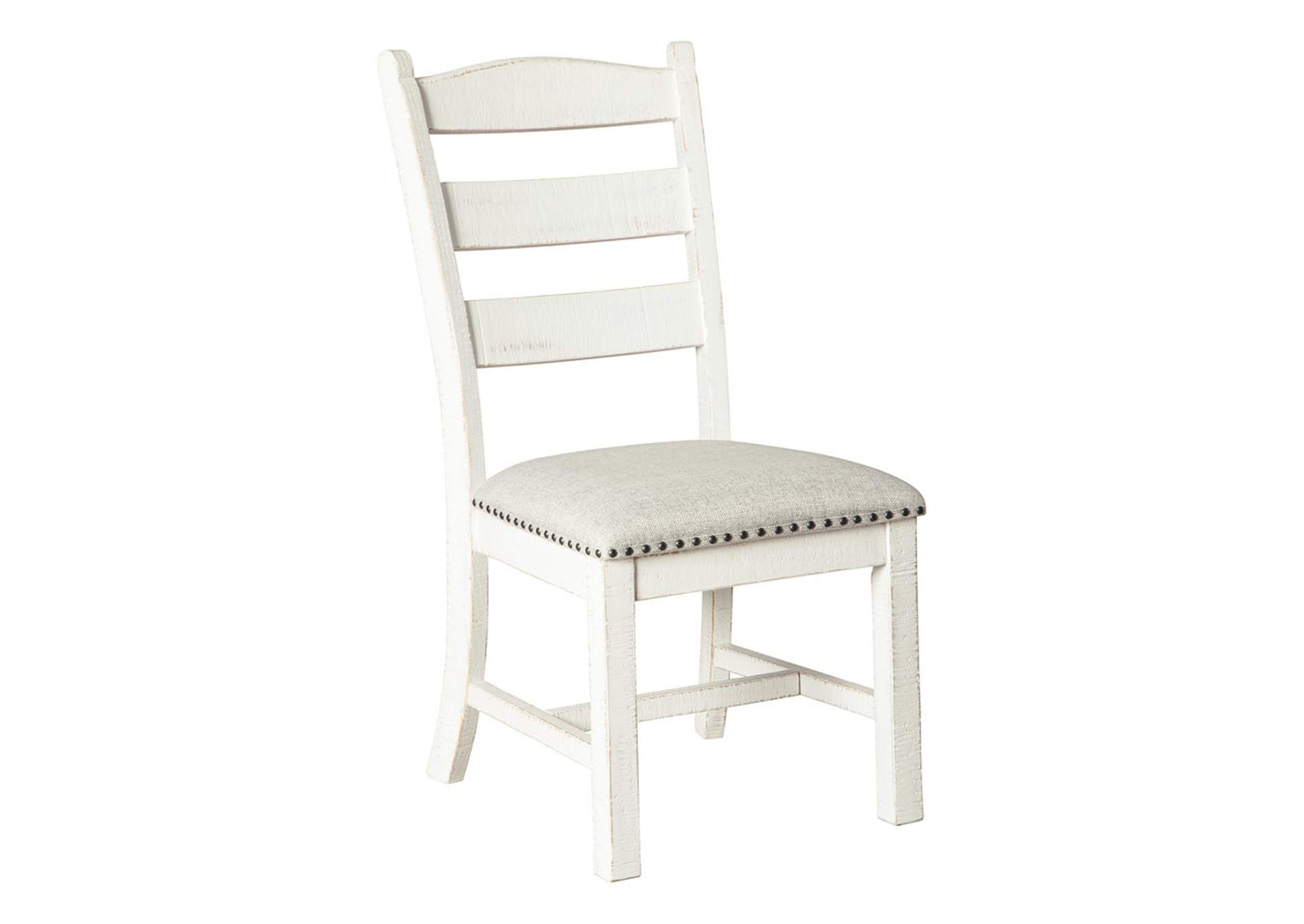Valebeck Beige/White Dining Chair (Set of 2),Signature Design By Ashley
