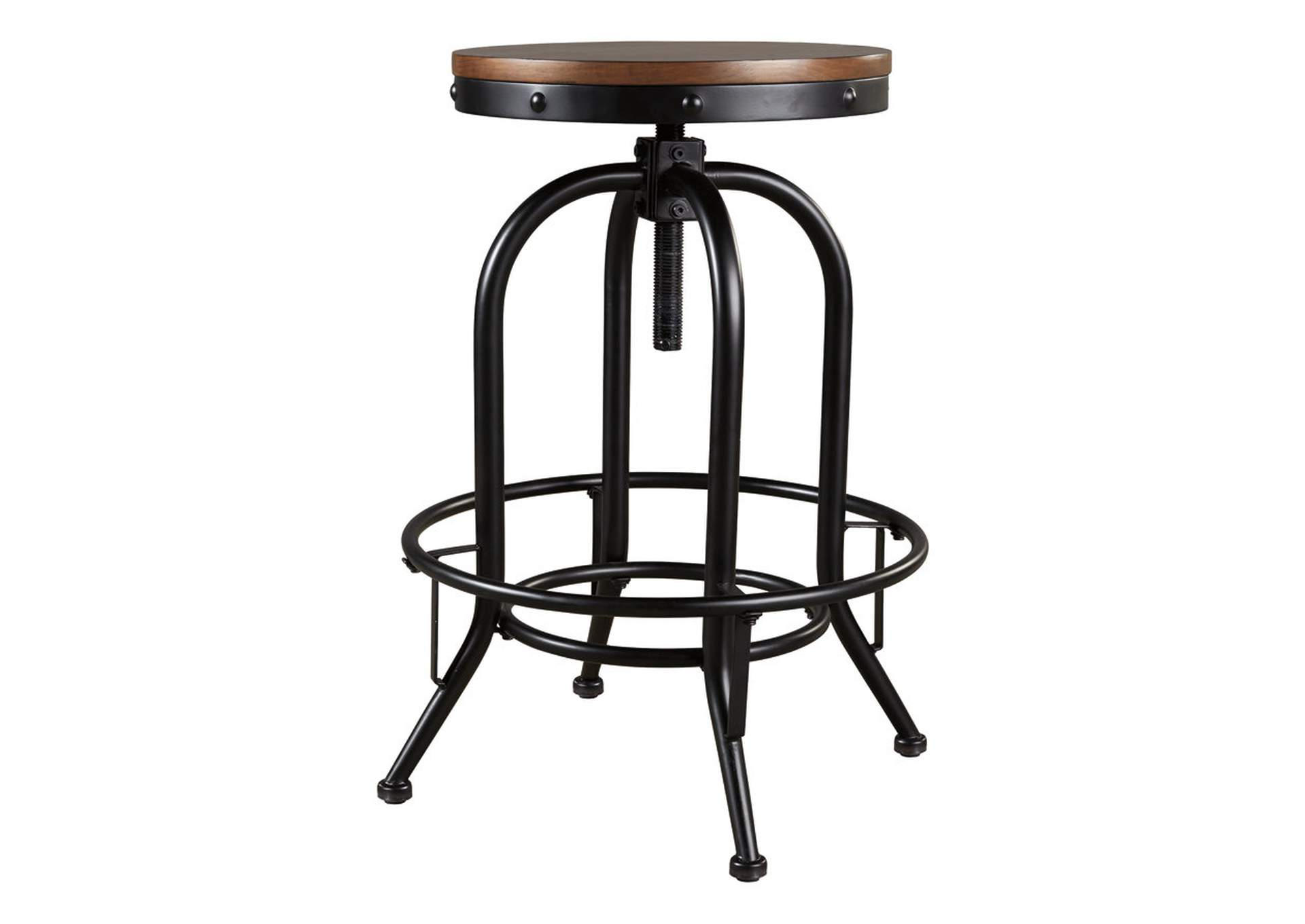 Valebeck Brown Bar Height Bar Stool (Set of 2),Signature Design By Ashley