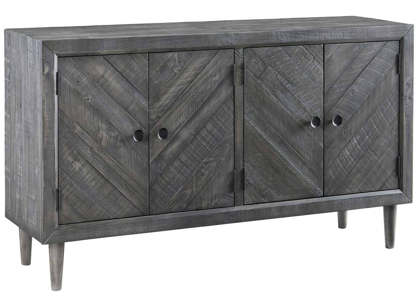Besteneer Dark Gray Dining Room Server,Signature Design By Ashley