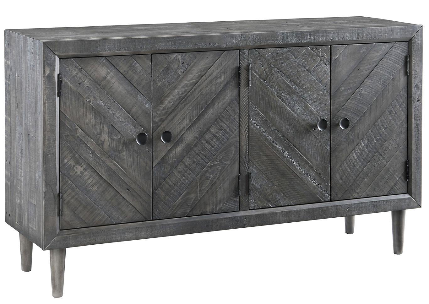 Superb Besteneer Dark Gray Dining Room Server,Signature Design By Ashley