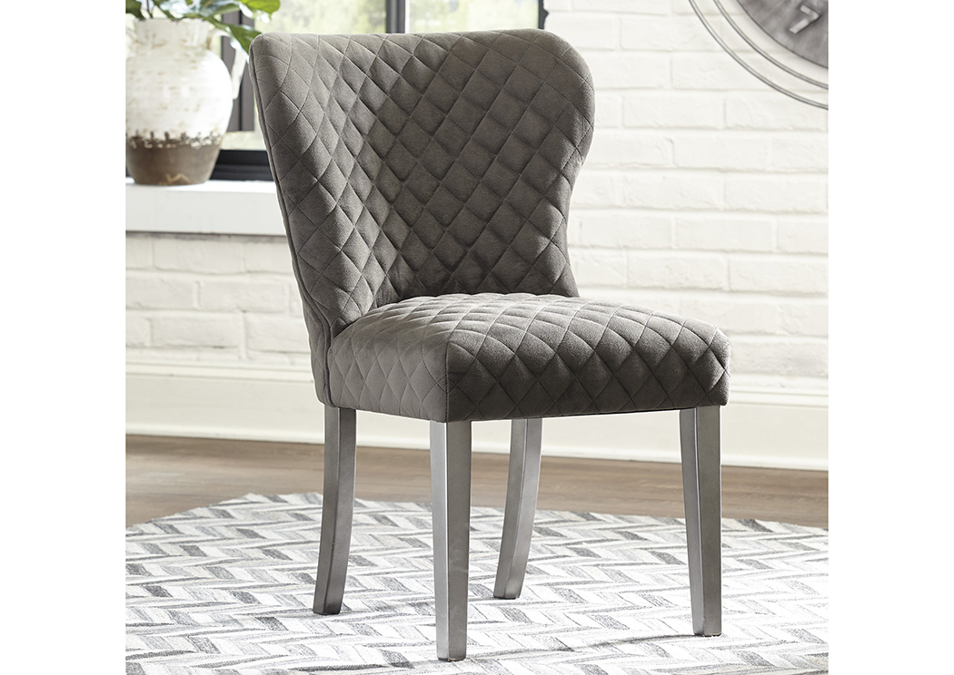 Rozzelli Upholstered Side Chair Chair (Set of 2),Signature Design By Ashley