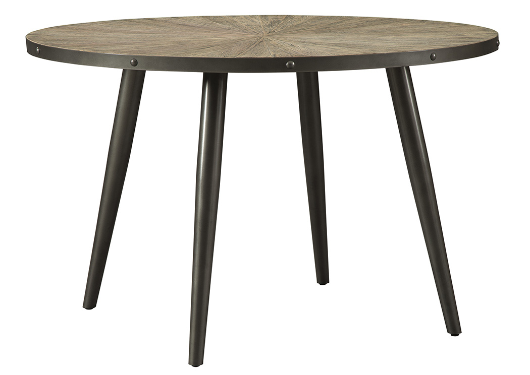 Coverty Light Brown Round Dining Table,Signature Design By Ashley