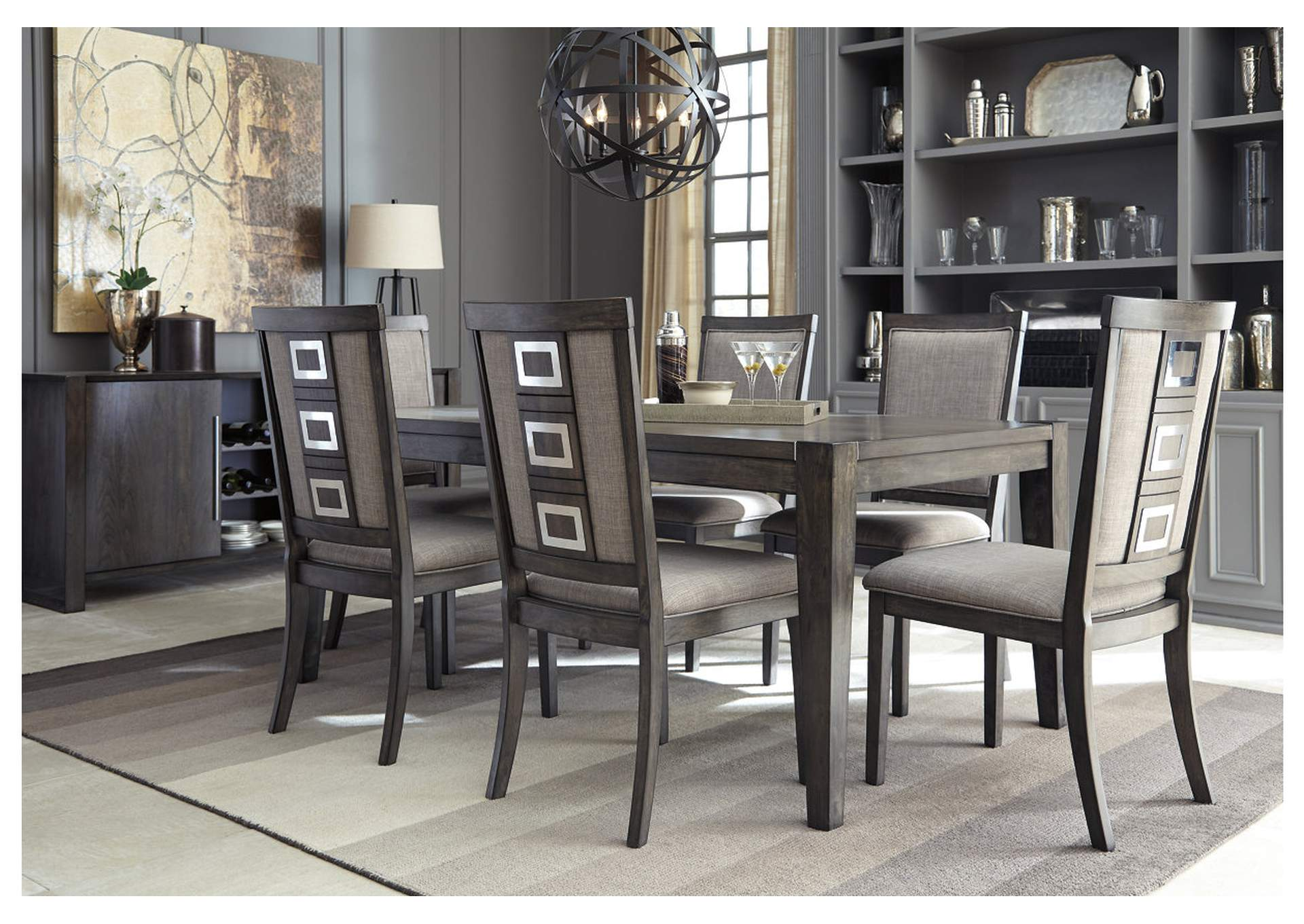 Chadoni Gray Dining Room Server,Signature Design By Ashley