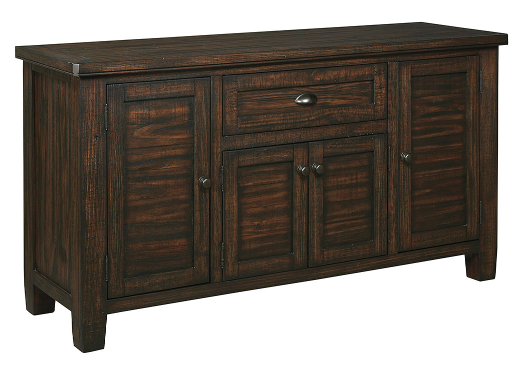 Trudell Golden Brown Dining Room Server,Signature Design By Ashley