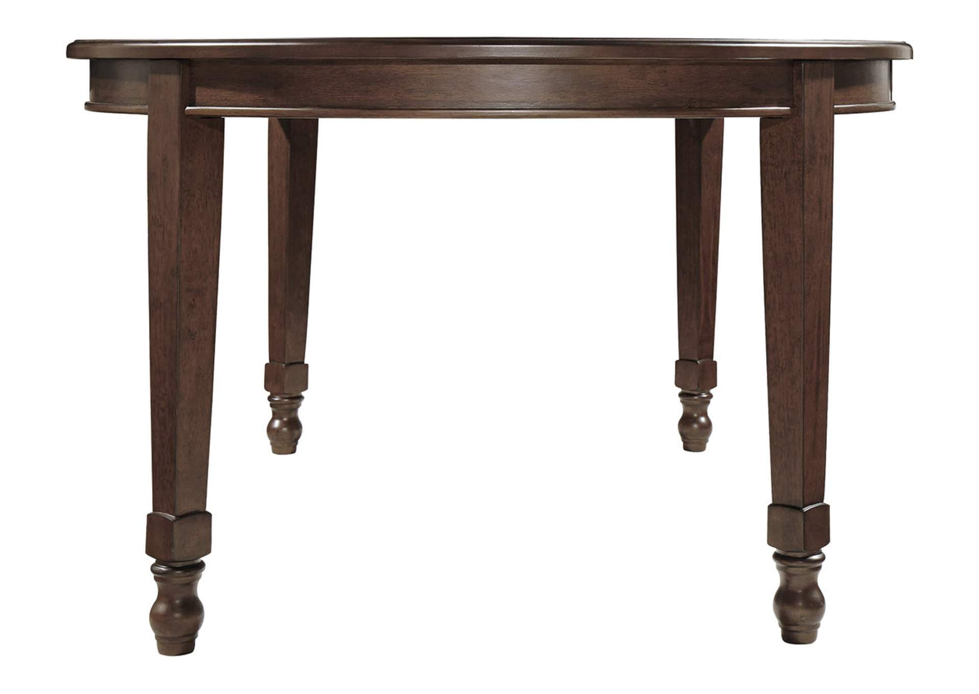 Adinton Reddish Brown Dining Extendable Table,Signature Design By Ashley