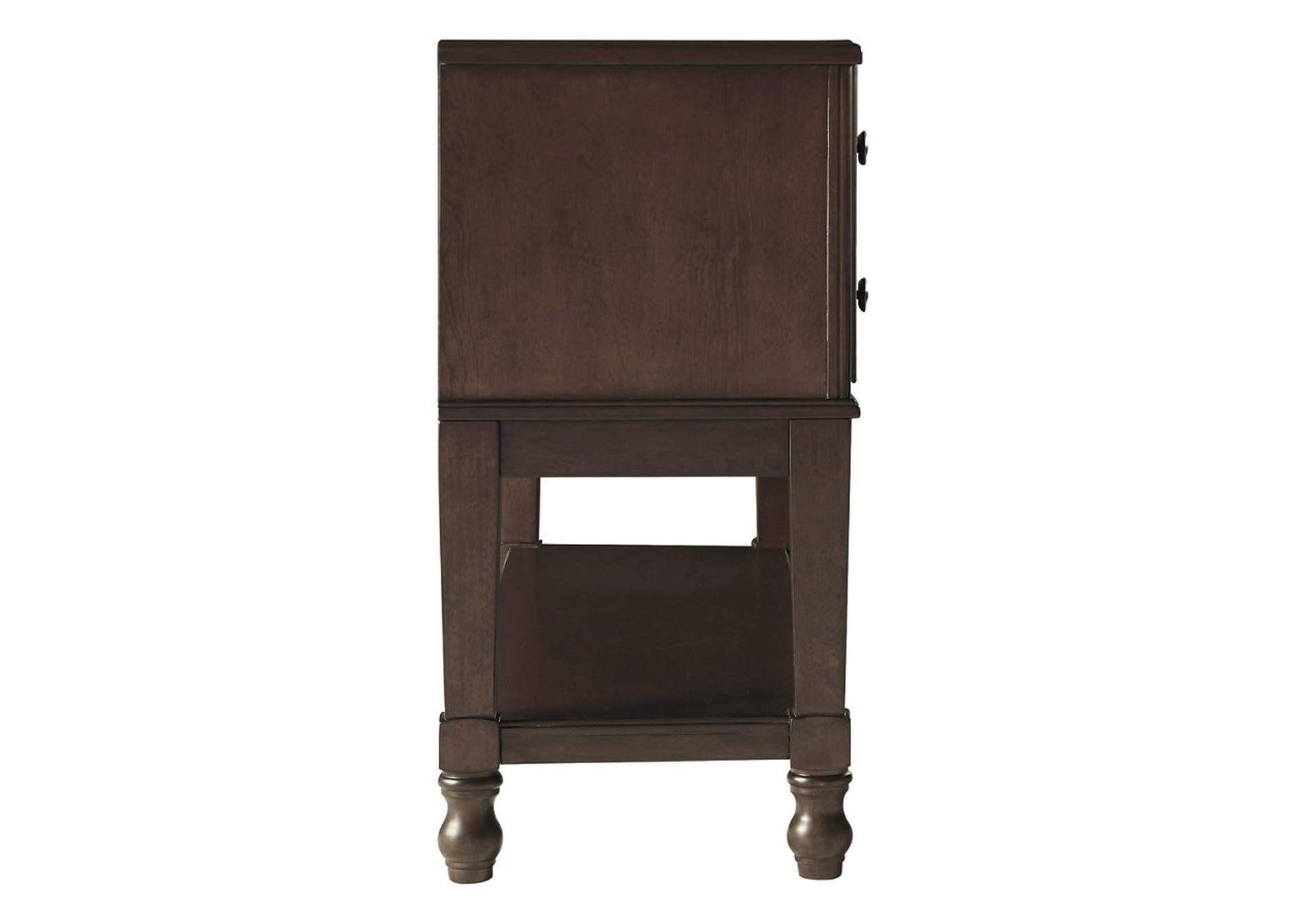 Adinton Reddish Brown Dining Server,Signature Design By Ashley