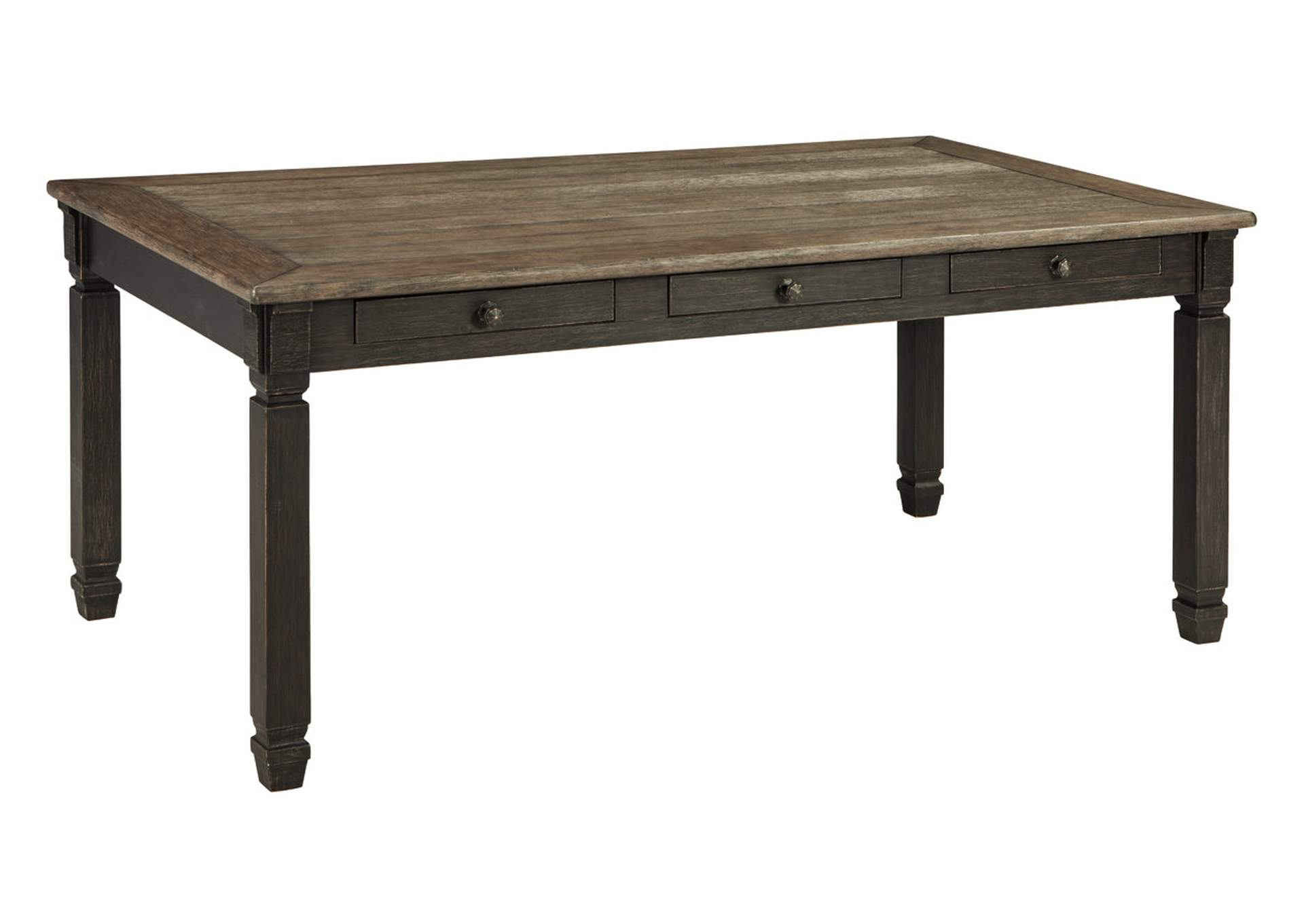 Tyler Creek Black/Grayish Brown Rectangular Dining Room Table,Signature Design By Ashley